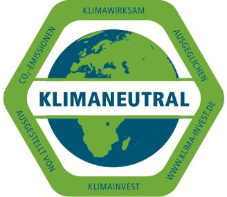 Siegel klimaneutral